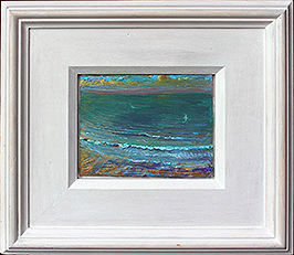 'THE BLUE WAVE: LATE SUMMER EVENING, SALTBURN'