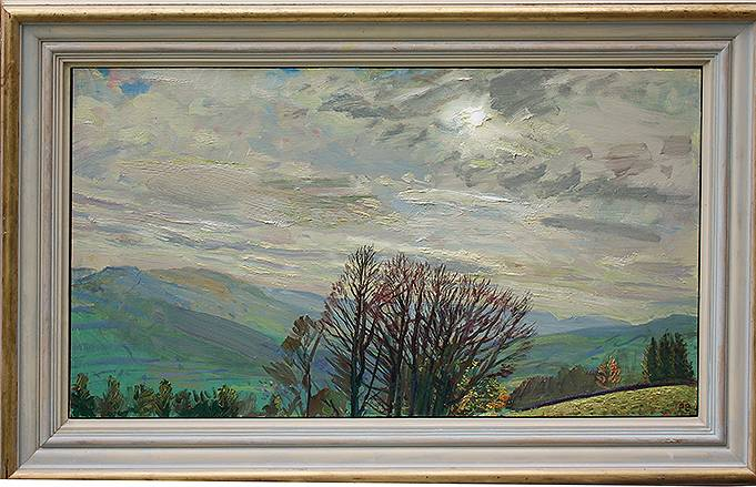 'TOWARDS ASKRIGG: BUDDING SYCAMORES''