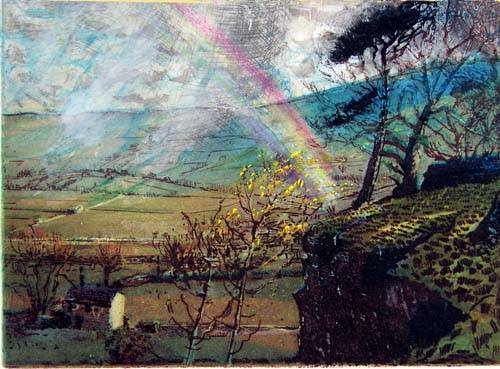 Rainbow: Wensleydale from Cubeck