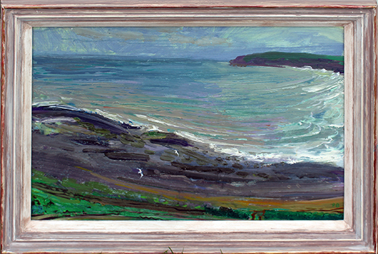 'SOLWAY FIRTH STORM BREWING FROM RASCARELL BAY, DUMFRIESS'
