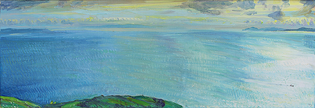 'HEADING HOME; THE SOUTH FROM THE SOUTH TIP OF BUTE'