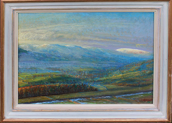 ''JANUARY DAWN, WENSLEYDALE''