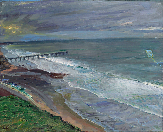 SALTBURN IN FEBRUARY: TIDE RACING IN
