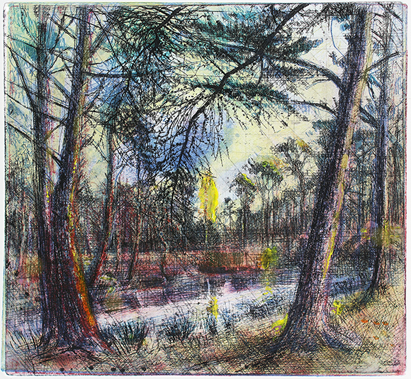 LARCH-MARCH DAWN ON THE COMMON
