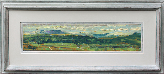 'LAST OF WINTER SNOW, AND FIRST CURLEW'