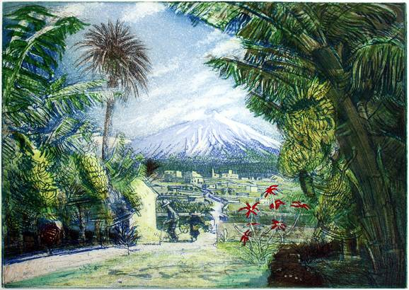 'MARCH IN TENERIFE: MOUNT TEIDE'