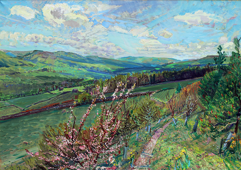 'PLUM BLOSSOM' alias 'TOWARDS UPPER WENSLEYDALE: MAY FROM THE PLUM TREE'