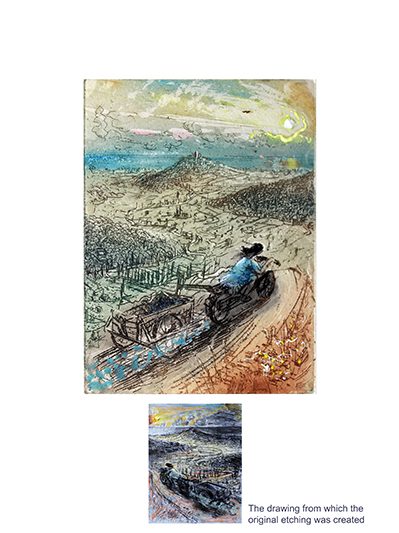 'RACING DOWN TO BIOT, PROVENCE' (top)