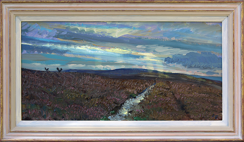 GROUSE RETURNING TO ROOST: SEPTEMBER DUSK ON BOLTON MOOR, WENSLEYDALE