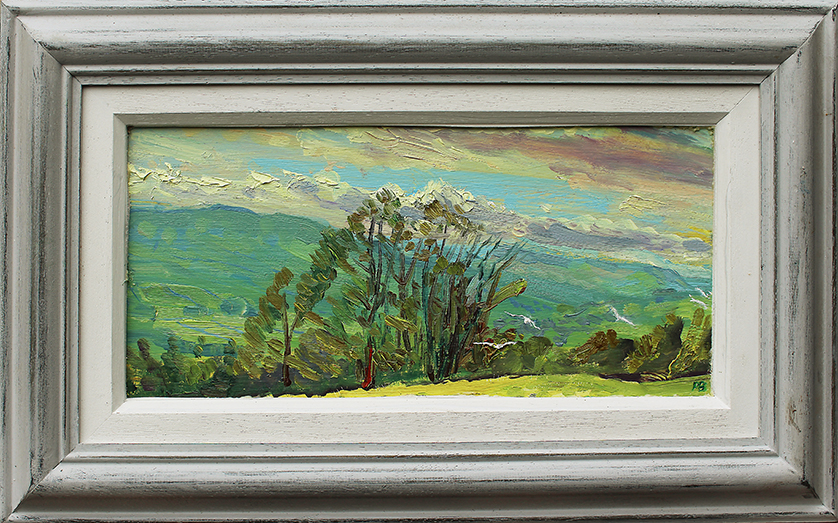 TOWARDS BAINBRIDGE FROM NAPPA SCAR, WENSLEYDALE