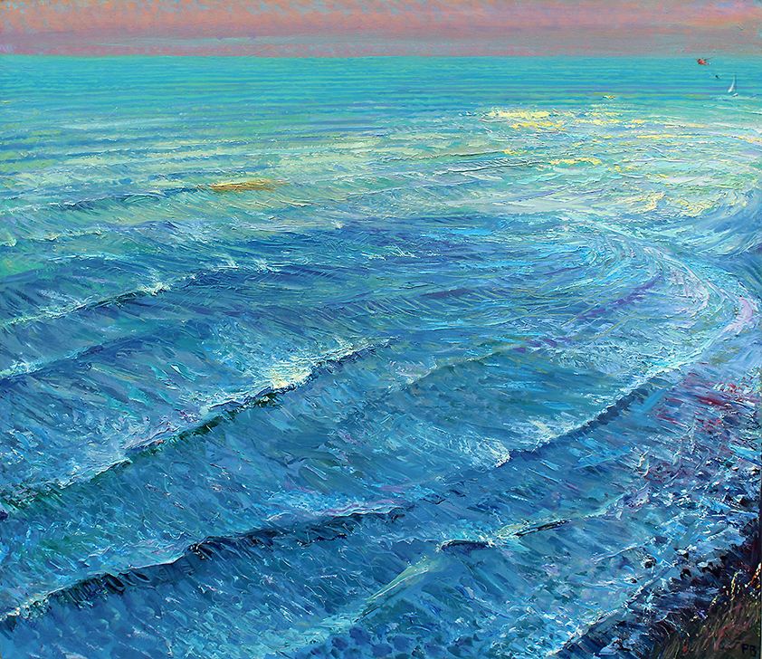 'TIDE ROARING IN: JANUARY AT KETTLENESS'