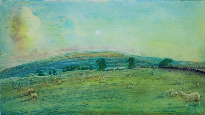 'PENHILL, WENSLEYDALE:SEPTEMBER EVENING'