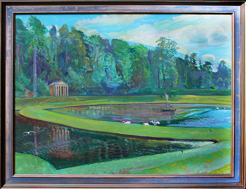 JULY AFTERNOON  AT STUDLEY ROYAL