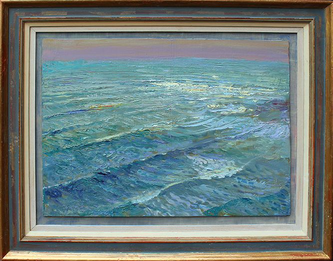 'DRIVING IN SEA: WINTER SUN, KETTLENESS'