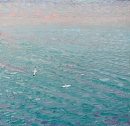 'THE LAST TWO GANNETS: OCTOBER AT BEMPTON CLIFFS'