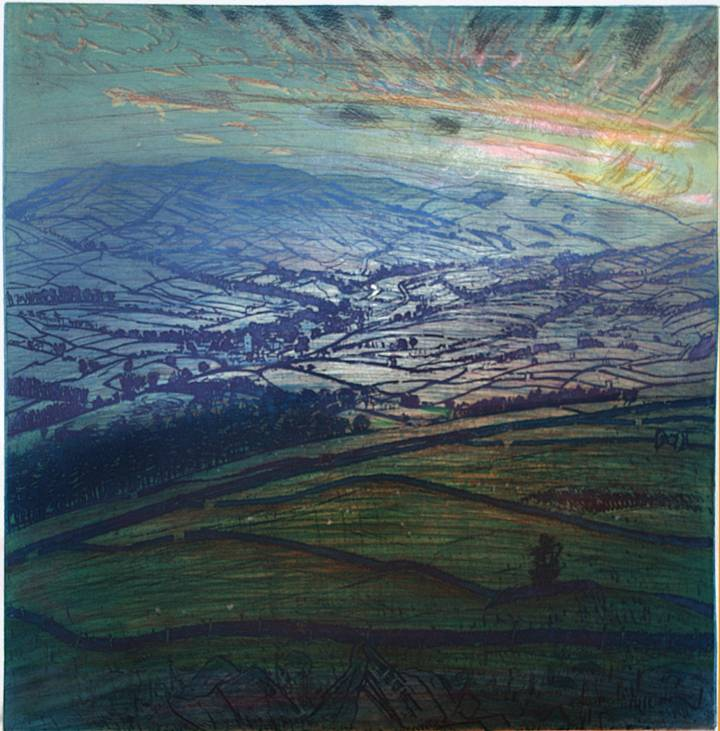 ''LAST EVENING IN OCTOBER: ASKRIGG and UPPER WENSLEYDALE''