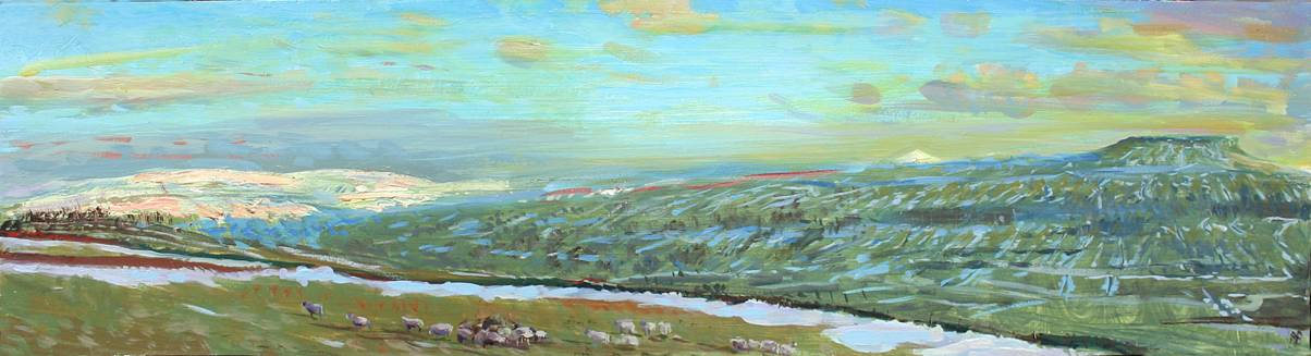'LIGHT STRIKING BUCKEN PIKE & PENHILL: WENSLEYDALE'