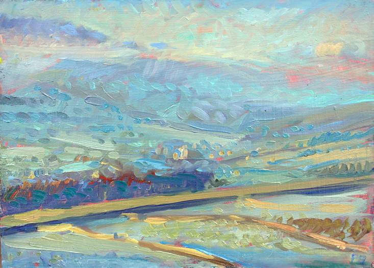 Chilly January Dawn - (small version)