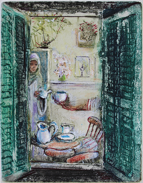 Tea with Abbess